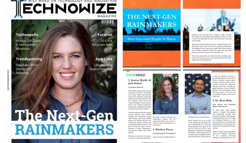 Mieron featured in technowize magazine